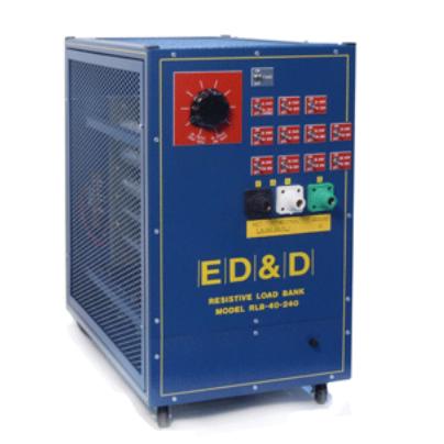 美国ED&D加载设备RLB-40电阻式负载银行